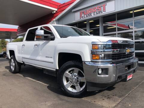 2016 Chevrolet Silverado 2500HD for sale at Furrst Class Cars LLC  - Independence Blvd. in Charlotte NC