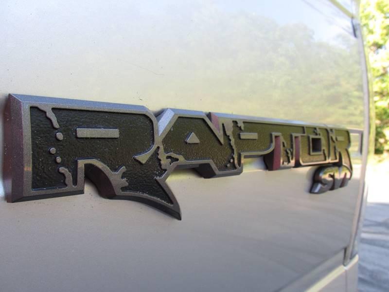2014 Ford F-150 4x4 SVT Raptor 4dr SuperCrew Styleside 5.5 ft. SB - Charlotte NC