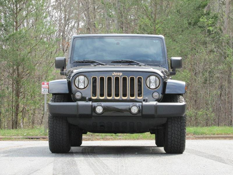 2014 Jeep Wrangler Unlimited 4x4 Dragon 4dr SUV - Charlotte NC