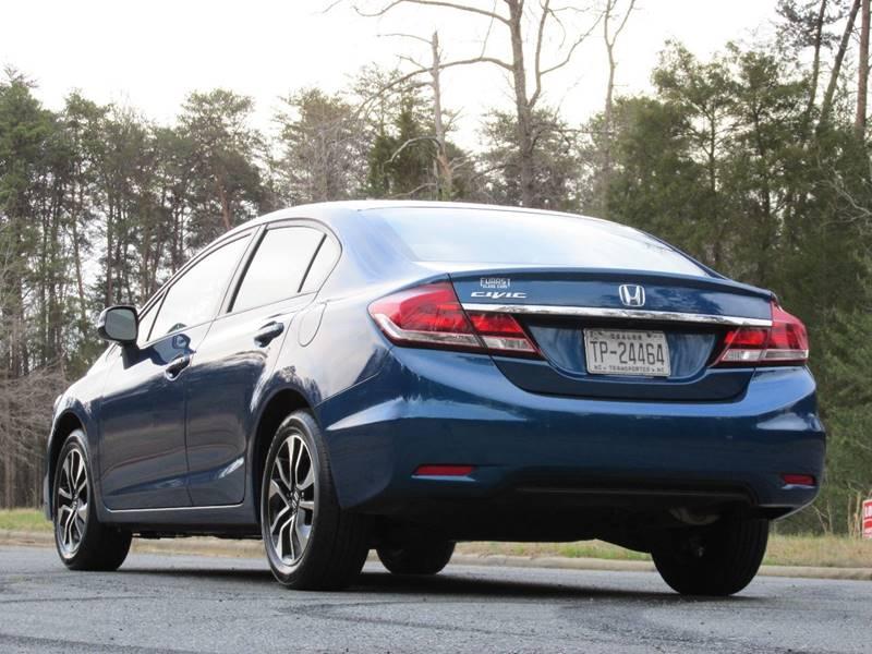 2013 Honda Civic EX 4dr Sedan - Charlotte NC