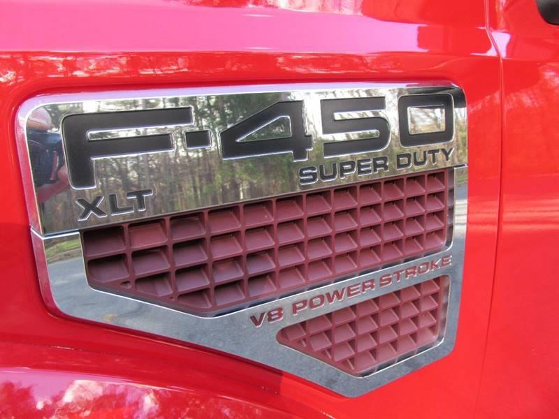 2008 Ford F-450 Super Duty XLT 4dr Crew Cab 4WD LB DRW - Charlotte NC