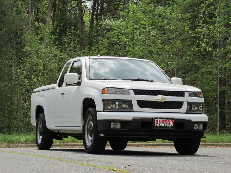 2012 Chevrolet Colorado 4x2 Work Truck 4dr Extended Cab - Charlotte NC