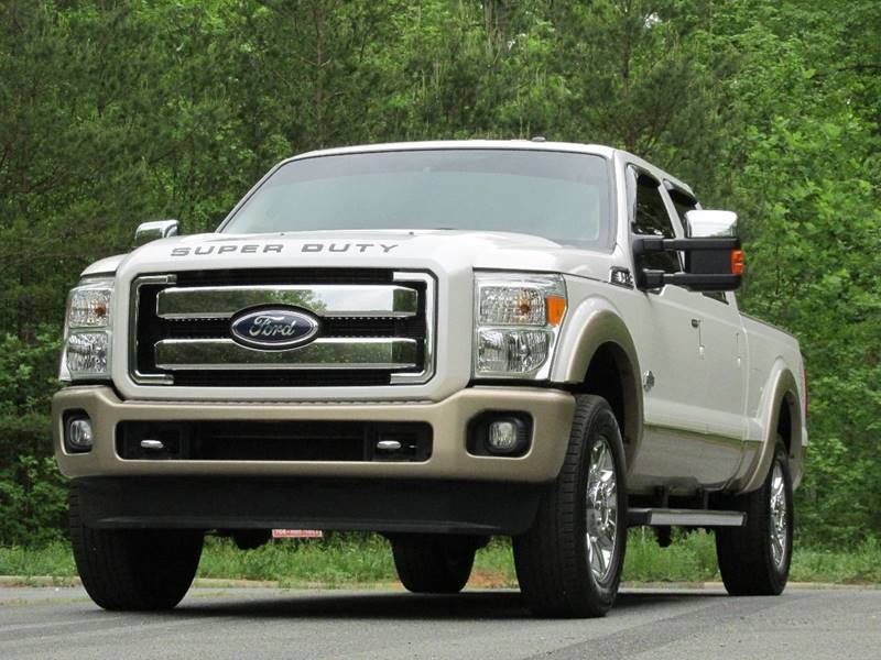 2012 Ford F-250 Super Duty 4x4 King Ranch 4dr Crew Cab 6.8 ft. SB Pickup - Charlotte NC