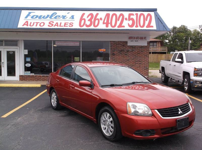 2009 Mitsubishi Galant for sale at Fowler's Auto Sales in Pacific MO