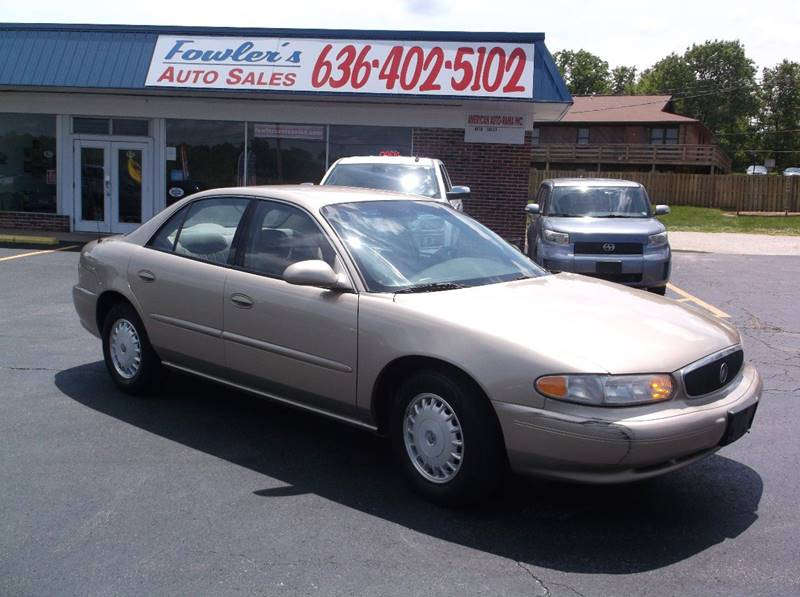2005 Buick Century for sale at Fowler's Auto Sales in Pacific MO