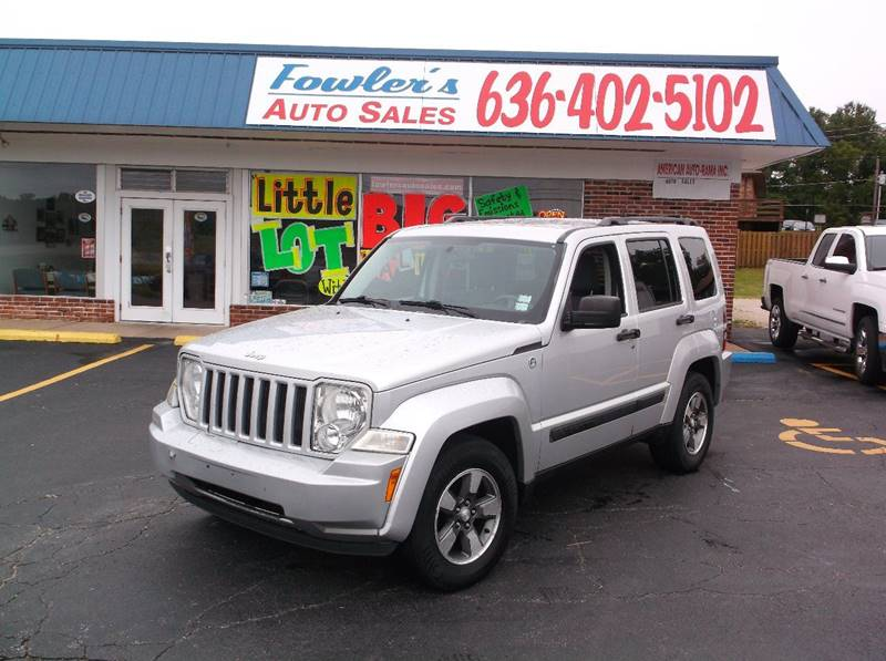 2008 Jeep Liberty for sale at Fowler's Auto Sales in Pacific MO