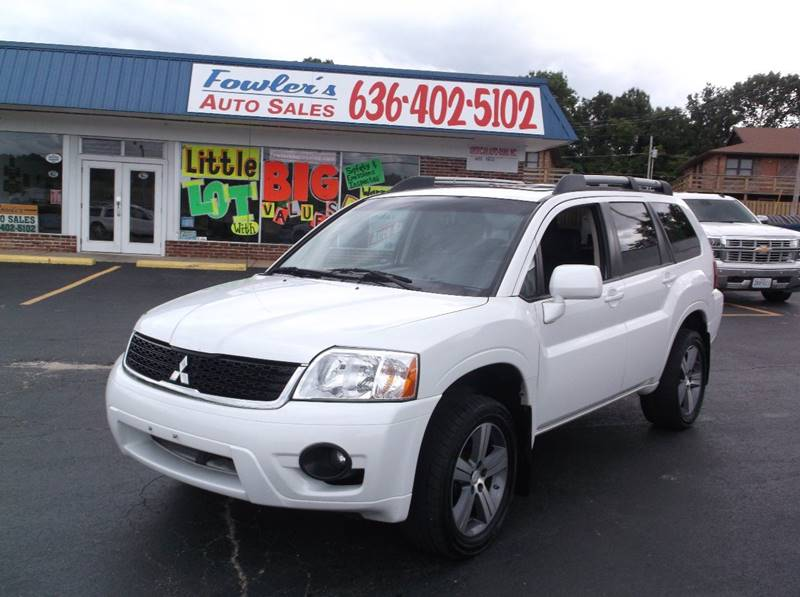 2011 Mitsubishi Endeavor for sale at Fowler's Auto Sales in Pacific MO