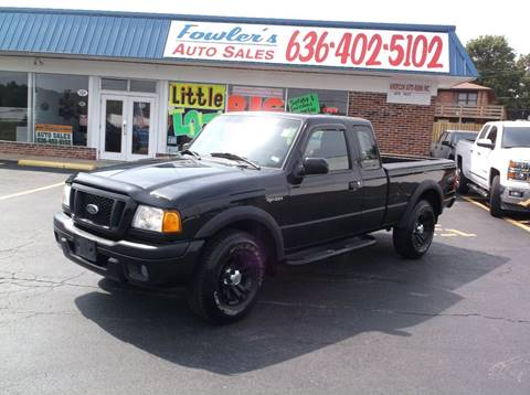 2005 Ford Ranger for sale at Fowler's Auto Sales in Pacific MO