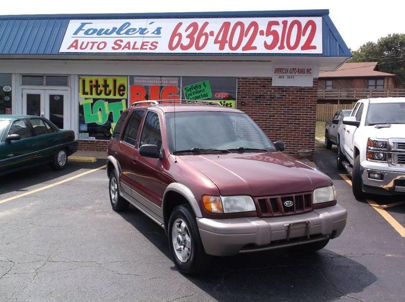 2002 Kia Sportage for sale at Fowler's Auto Sales in Pacific MO