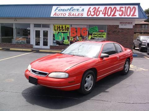 1999 Chevrolet Monte Carlo for sale in Pacific, MO