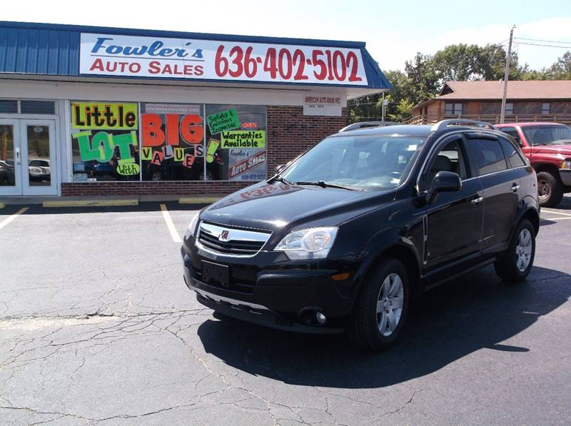 2008 Saturn Vue for sale at Fowler's Auto Sales in Pacific MO