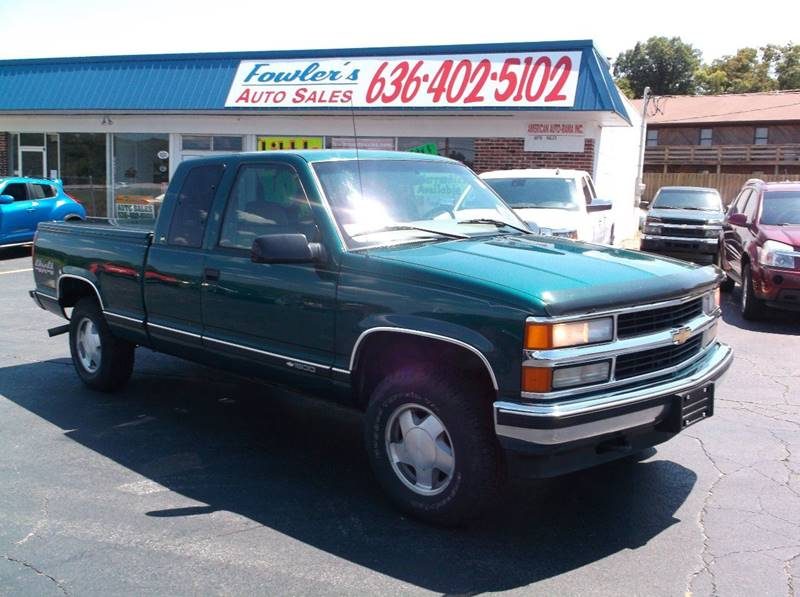 1997 Chevrolet C/K 1500 Series for sale at Fowler's Auto Sales in Pacific MO