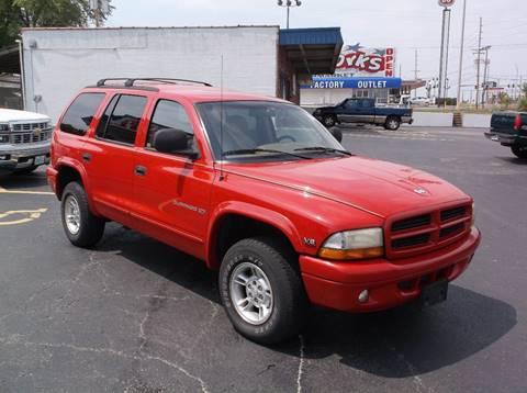 1999 Dodge Durango for sale at Fowler's Auto Sales in Pacific MO
