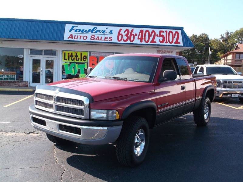 1998 Dodge Ram Pickup 1500 for sale at Fowler's Auto Sales in Pacific MO