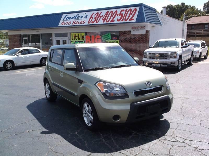 2010 Kia Soul for sale at Fowler's Auto Sales in Pacific MO