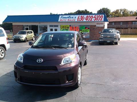 2011 Scion xD for sale at Fowler's Auto Sales in Pacific MO