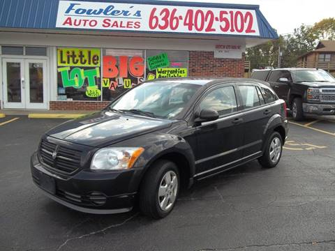 2007 Dodge Caliber for sale at Fowler's Auto Sales in Pacific MO