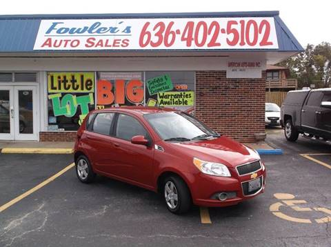 2011 Chevrolet Aveo for sale at Fowler's Auto Sales in Pacific MO