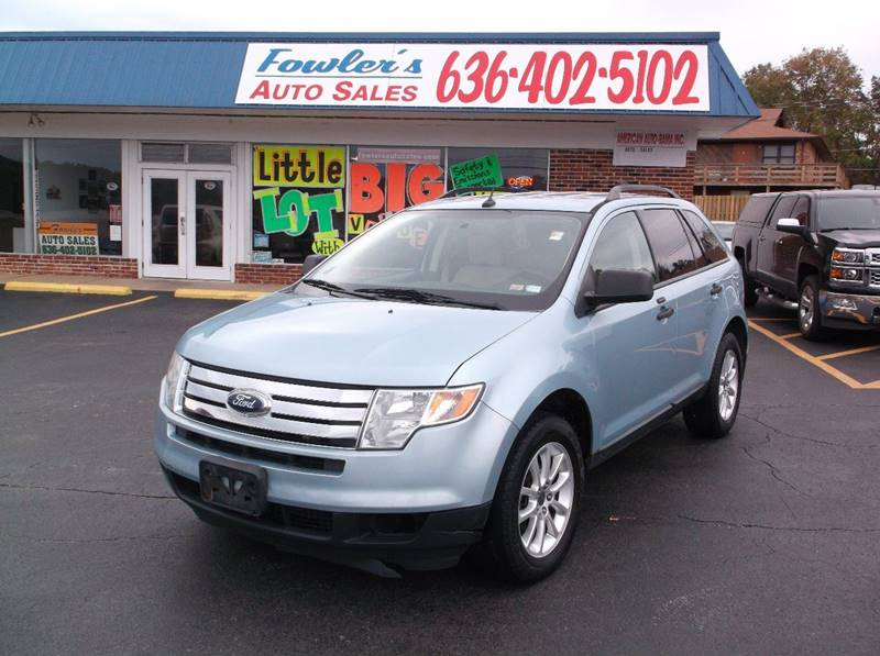2008 Ford Edge for sale at Fowler's Auto Sales in Pacific MO