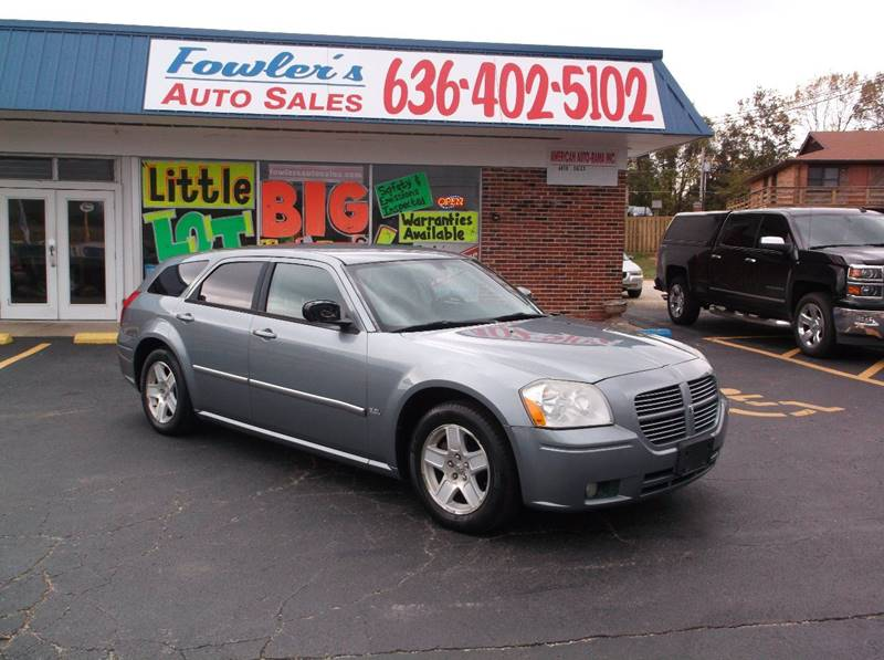 2007 Dodge Magnum for sale at Fowler's Auto Sales in Pacific MO
