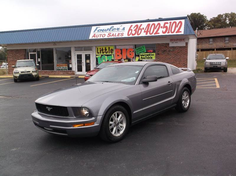 2006 Ford Mustang for sale at Fowler's Auto Sales in Pacific MO
