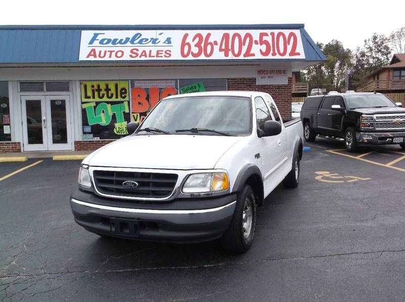 2003 Ford F-150 for sale at Fowler's Auto Sales in Pacific MO