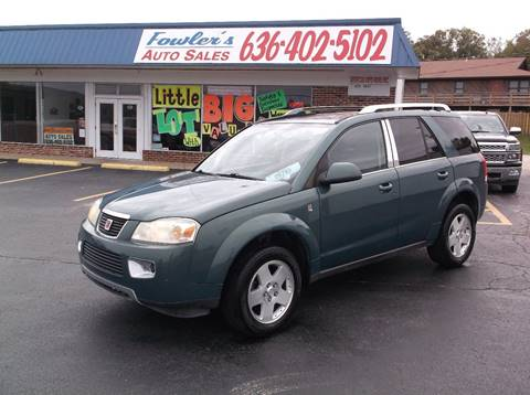 2007 Saturn Vue for sale at Fowler's Auto Sales in Pacific MO