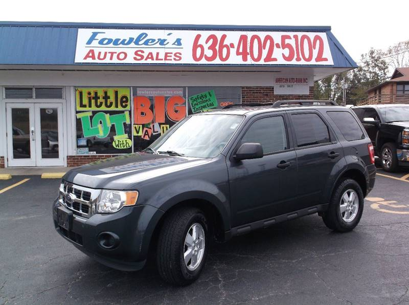 2009 Ford Escape for sale at Fowler's Auto Sales in Pacific MO