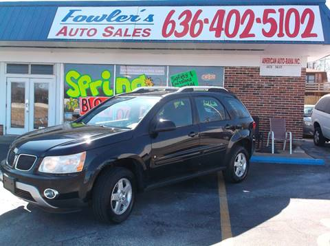 2008 Pontiac Torrent for sale in Pacific, MO