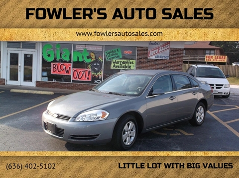 2008 Chevrolet Impala for sale in Pacific, MO