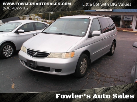 2002 Honda Odyssey for sale in Pacific, MO
