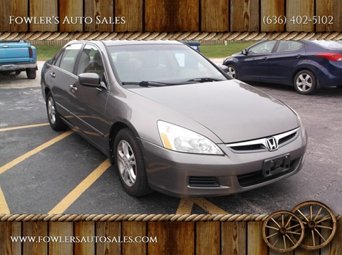2007 Honda Accord for sale in Pacific, MO