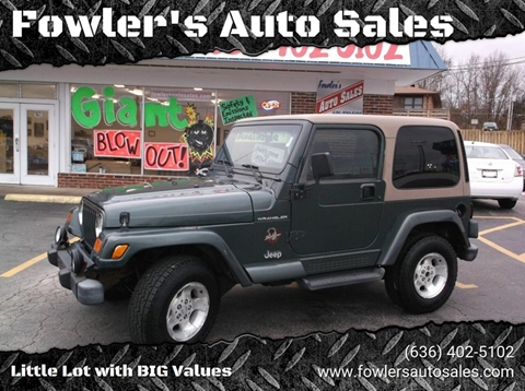 2002 Jeep Wrangler for sale in Pacific, MO