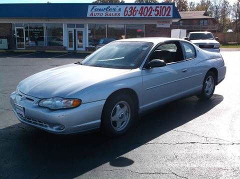 2001 Chevrolet Monte Carlo for sale in Pacific, MO