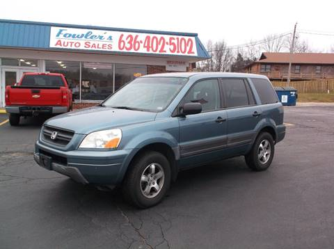 2005 Honda Pilot for sale at Fowler's Auto Sales in Pacific MO