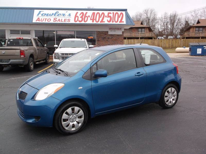 2007 Toyota Yaris for sale at Fowler's Auto Sales in Pacific MO