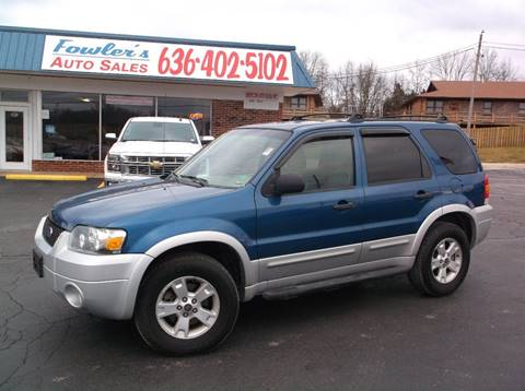 2007 Ford Escape for sale at Fowler's Auto Sales in Pacific MO