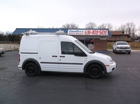 2011 Ford Transit Connect for sale at Fowler's Auto Sales in Pacific MO