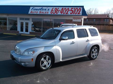 2011 Chevrolet HHR for sale at Fowler's Auto Sales in Pacific MO