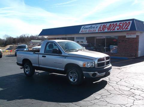 2004 Dodge Ram Pickup 1500 for sale at Fowler's Auto Sales in Pacific MO