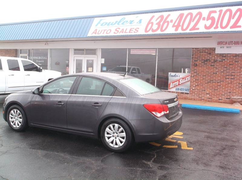 2011 Chevrolet Cruze for sale at Fowler's Auto Sales in Pacific MO