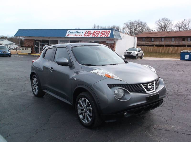 2011 Nissan JUKE for sale at Fowler's Auto Sales in Pacific MO