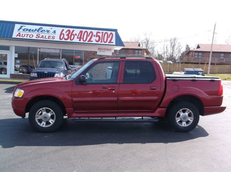 2004 Ford Explorer Sport Trac for sale at Fowler's Auto Sales in Pacific MO