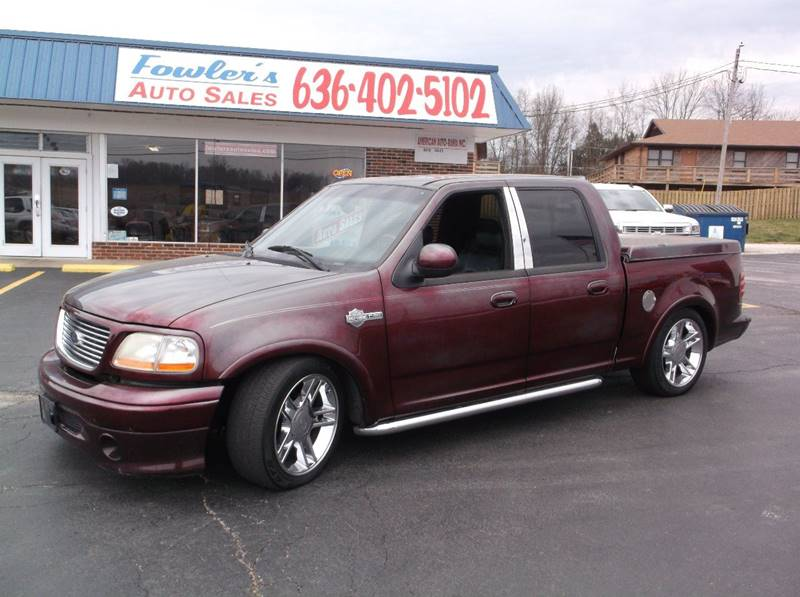2002 Ford F-150 for sale at Fowler's Auto Sales in Pacific MO