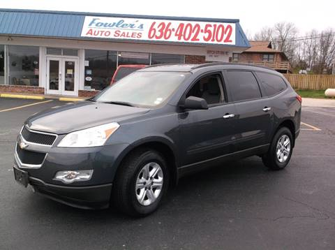 2010 Chevrolet Traverse for sale at Fowler's Auto Sales in Pacific MO
