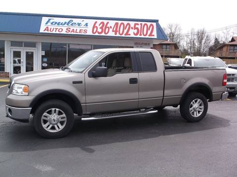 2006 Ford F-150 for sale at Fowler's Auto Sales in Pacific MO