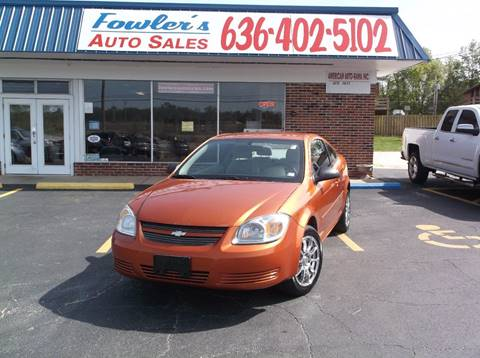 2007 Chevrolet Cobalt for sale at Fowler's Auto Sales in Pacific MO