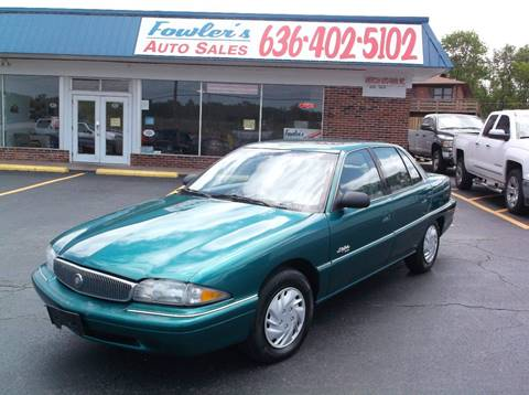 1996 Buick Skylark for sale at Fowler's Auto Sales in Pacific MO