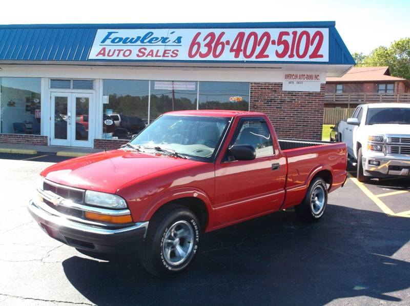 2003 Chevrolet S-10 for sale at Fowler's Auto Sales in Pacific MO