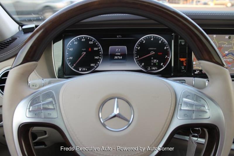 2015 Mercedes-Benz S-Class AWD S 550 4MATIC 4dr Sedan - Woodbridge VA